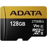 128 GB . microSDHC/SDXC UHS-II U3 karta ADATA class 10 Ultra High Speed + adaptér