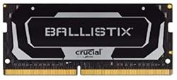 16GB DDR4 2400 MT/s CL16 Crucial Ballistix SODIMM 260pin, black