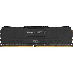 16GB DDR4 3000 MT/s CL15 Crucial Ballistix UDIMM 288pin, black