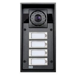 2N Helios IP Force - 2 tlačítka, kamera, 10W reproduktor, příprava pro čtečku