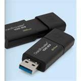 64 GB . USB 3.0 klúč. Kingston DataTraveler 100 G3 ( r100MB/s, w10MB/s )