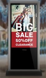 "65"" Prestigio Digital signage, kiosk, Android, In door,"