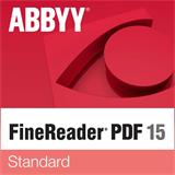 ABBYY FineReader 15 Standard, Single User License (ESD), Perpetual