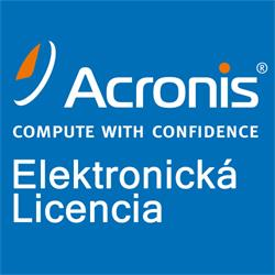 Acronis Backup Advanced Server License– Maintenance AAP ESD (1 - 4)