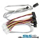 ADAPTEC cable 0.7M an miniSAS (SFF8087) to 4x SAS SFF8482