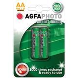 AgfaPhoto prednabité batérie 1.2V, AA, 2100mAh, blister 2ks