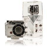 Akčná kamera s rozlíšením Full HD 1080p,vodotesným puzdrom, Wi-Fi, GPS