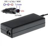 Akyga Notebook power supply Dedicated AK-ND-04 19V/4.74A 90W 7.4x5.0 mm + pin HP