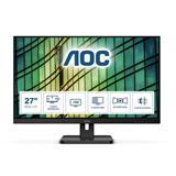 "AOC 27E2QAE 27""W IPS LED 1920x1080 20 000 000:1 4ms 250cd HDMI repro"