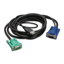 APC Integrated Rack LCD/KVM USB Cable - 6ft (3.0m)