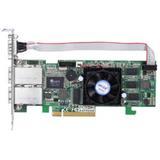 ARECA 8port SAS/SATA (6Gb/s) (2x SFF-8088) Externí, 512MB,RAID 0,1,5,6/PCI-E x8, LP
