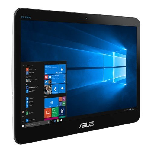 "ASUS AiO V161GAT-BD040D Celeron N4000 (2.6GHz) 15,6"" HD Touch UMA 4GB 128GB SSD WL BT Cam ENDLESS RS-232 (COM), čierny"