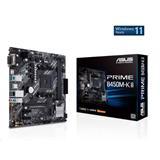 ASUS PRIME B450M-K II soc.AM4 B450 DDR4 mATX M.2 D-Sub DVI HDMI