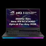 """ASUS ROG Strix SCAR 15 G533QS-HF028T AMD R9 5900HX 15.6"""" FHD matný 300Hz RTX3080/16GB 32GB 1TB SSD WL BT W10 CS;NumPad"""