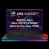 "ASUS ROG Strix SCAR 17 G733QS-HG125T AMD R9 5900HX 17.3"" FHD matný 300Hz RTX3080/8G 16GB 1TB SSD WL BT W10 CS;"
