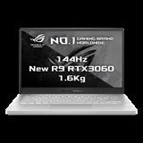 "ASUS ROG ZEPHYRUS G14 GA401QM-HZ234T AMD R9-5900HS 14"" FHD matnýRTX3060/6G 16GB 512TB SSD WL BT Win10 CS biely;FPR"