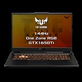 "ASUS TUF Gaming FX706LI-HX204 Intel i5-10300H 17.3"" FHD IPS matný GTX1650Ti/4G 16GB 512GB SSD WL BT Cam bez OS CS"