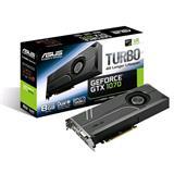 ASUS TURBO-GTX1070-8G 8GB/256-bit, GDDR5, DVI, 2xHDMI, 2xDP