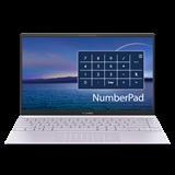 "ASUS Zenbook 14 UX425EA-KI359T Intel i7-1165G7 14"" FHD matny UMA 16GB 512GB SSD WL BT Cam W10 strieborny;NumPad"