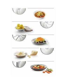 BOSCH_SET VeggieLove: priebehový krájač s 5 kotúčmi na prípravu vegetariánskych jedál