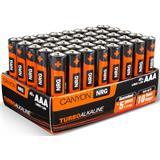 Canyon ALKAAA40, alkalické mikrotužkové batérie AAA, 40ks/balenie - blister