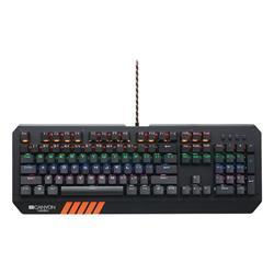 Canyon CND-SKB6-CS Hazard herná klávesnica, USB, mechanická, LED podsvietenie 20 režimov, SK/CZ klávesy
