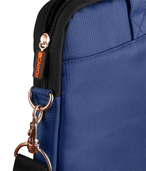 """Canyon CNE-CB5BL3, štíhla taška na notebook do veľkosti 15.6"""", modrá"""