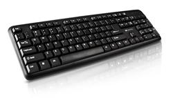 Canyon CNE-CKEY01-SK klávesnica, USB, 104 kláves, odolná proti poliatiu tekutinou, štíhla, čierna, SK