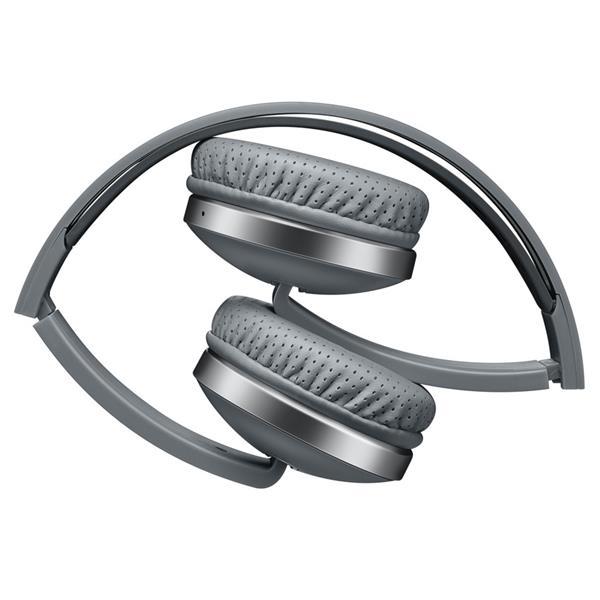 Canyon CNS-CBTHS2DG, bluetooth slúchadlá na uši s integrovaným mikrofónom, skladacie, tmavo-šedé