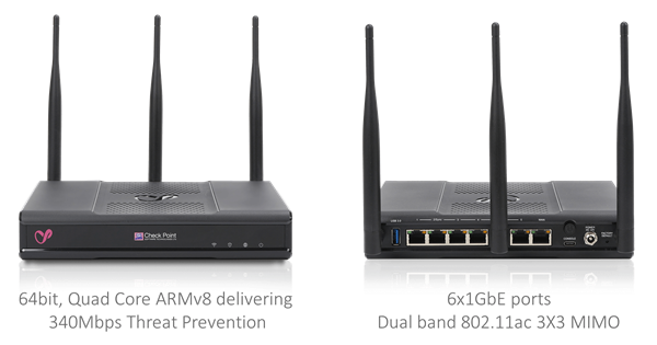 Check Point 1530 WiFi Appliance SNBT, support and services bundle