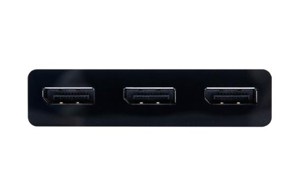 Club3D Multi Stream Transport (MST) Hub DisplayPort™ 1.2 Triple Monitor