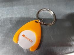 CN kľúčenka so žetónom do nákupných vozíkov