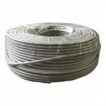 CNS kabel FTP, Cat5E, drát, PVC, Eca, box 100m - šedá