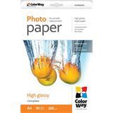 ColorWay Fotopapier Vysoko lesklý 200g/m,50ks,A4