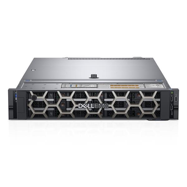 DELL PE R540/Chassis 8 x 3.5 HotPlug/Xeon Silver 4214/16GB/1x480GB SSD/DIB kit/Bezel/No Optiplexcal drive/Dual-Port 1GbE