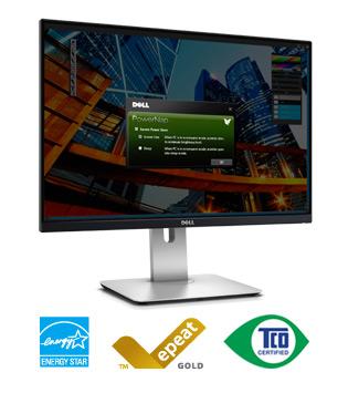 """DELL UltraSharp U2515H IPS 3H 25""""W 2560x1440 2M:1 6ms 350cd PIVOT HDMI DP mDP USB"""