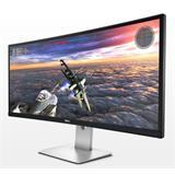 """DELL UltraSharp U3415W 34"""" AH-IPS 3440x1440 200000:1 5ms 300cd HDMI DP mDP USB"""
