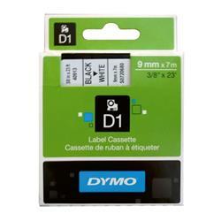 DYMO samolepiaca páska D1 čierna potlač/biela 9 mm