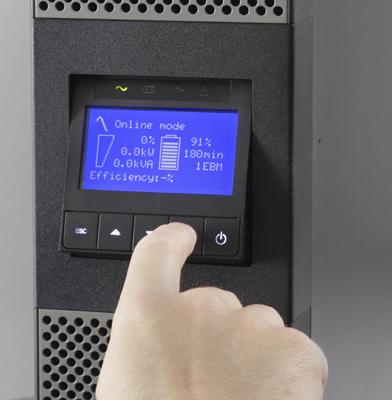 EATON UPS 1/1fáza, 6000VA - 9PX 6000i RT3U Netpack (OnLine)