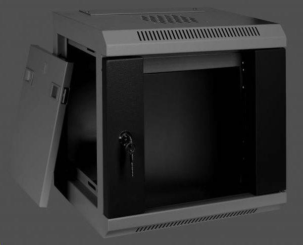 """Eurocase nástenný rozvádzač GMC3206 6U / 10"""" 350x280x344mm"""
