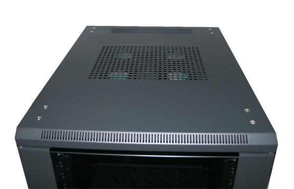 """Eurocase stojanový skriňový rozvádzač GB6822 BASIC, 22U / 19"""" 600x800x1093mm"""