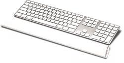 Fellowes I-Spire Series silikónová opierka zápästia ku klávesnici, biela
