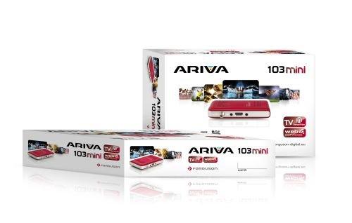 FERGUSON satelitný receiver ARIVA 103 mini red