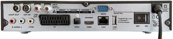 FERGUSON satelitný receiver Ariva 253 COMBO