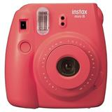 FUJIFILM Instax Mini 8 raspberry - unikatny fotoaparat s tlacou fotografii
