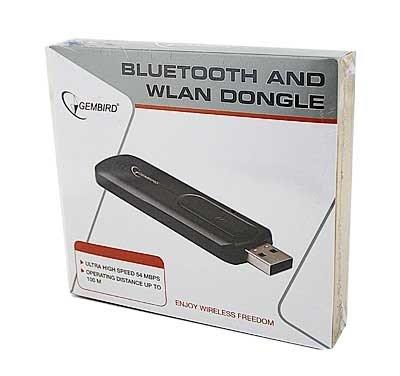Gembird Bluetooth / WLAN dongle, USB adaptér