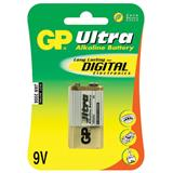 GP - Ultra Alkaline 9V Block, batéria, blister 1ks