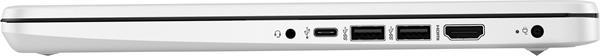 HP 14s-dq1000nc, i3-1005G1, 14.0 FHD, UMA, 8GB, SSD 256GB, W10, 2-2-0, White
