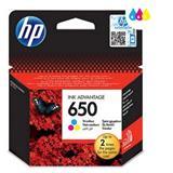 HP náplň c. 650 trojfarebná 200str- Blister