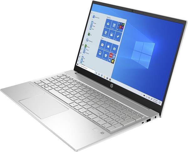HP Pavilion 15-eh0004nc, Ryzen 7 4700U, 15.6 FHD, UMA, 16GB, SSD 1TB, W10, 3-3-0, Silver